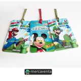 Invitaciones Fiesta Infantil Mickey Mouse Disney Vip Pvc