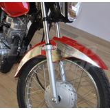 Adesivo Paralama Lat Relevo Moto Honda Fan 125 Partir D 2014