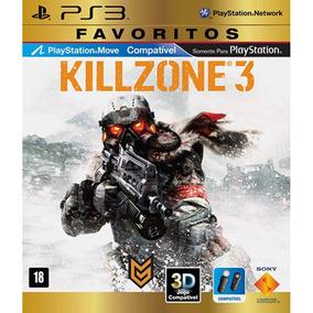 Killzone 3 Ps3 Favoritos Midia Fisica Original Lacrado