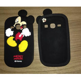 Capa Case Galaxy Fame Gt-s6810 - 3d Personagens Mickey_