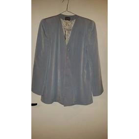 Trajecito, Pantalon Y Saco Blazer Forrado De Seda T S $1500