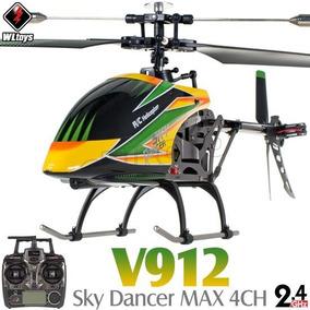 Helicóptero Wltoys V912 4ch 2.4ghz Rtf