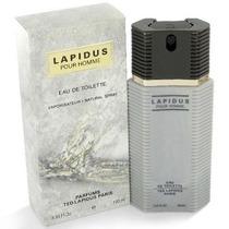 Perfume Lapidus Masculino 100ml Edt Ted Lapidus Frete Gratis
