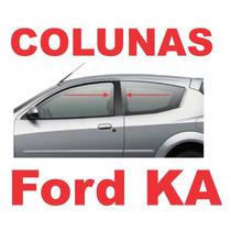 Colunas Preto Fosco Blackout Ford Ka Geração 1
