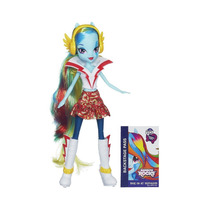 Boneca Rainbow Dash My Little Pony Equestria Girls - Hasbro