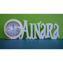 20 Suvenirs 15 Años Con Reloj Despertador Y Nombre