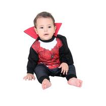 Fantasia Conde Drácula Vampiro Bebê C/capa Sulamericana