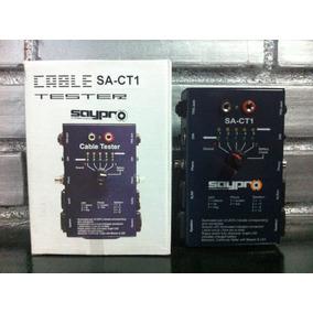 Tester Probador Múltiple De Cables Audio Profesional Saypro.