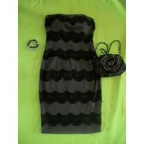 Vestido Tipo Strapless Para Dama, Nuevo