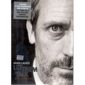 Hugh Laurie - Let Them Talk Special Edition Cd + Dvd
