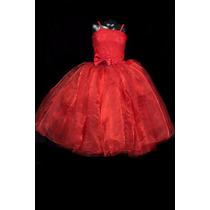 Vestido Tutus Bautizo, Pajecita Novia , Talla 5 - 6 Y 8