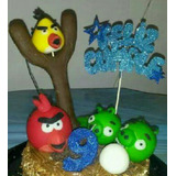 Centro De Torta Angry Birds