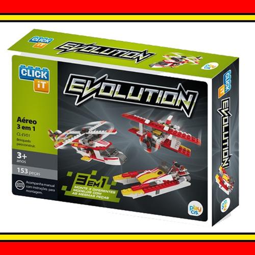 Click It Evolution 3 Em 1 Aéreo 153 P?s Brinquedo