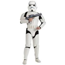 Disfraz Star Wars Stormtrooper Adulto Traje De Lujo