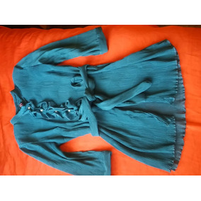 Camisa De Gasa Plisada ( Marca Lucyla)