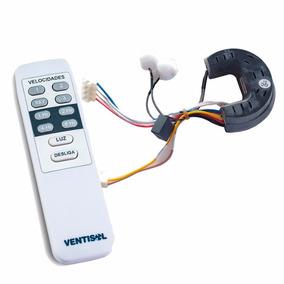 Controle Remoto + Receptor Controle Ventilador Ventisol 220v