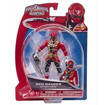 Ranger Vermelho 12cm Power Rangers S Megaforce Bandai #38201