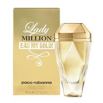 Perfume Lady Million Eau My Gold De Paco Rabanne 80ml Dama