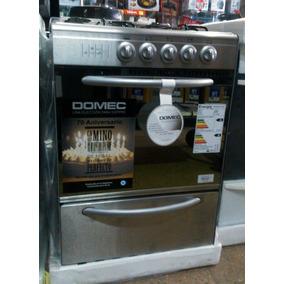 Cocina domec acero inoxidable cocinas gas en mercado for Garbarino cocinas a gas