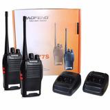 Kit 4 Rádios Comunicador Walk Talk Baofeng 777s Alcance 12km