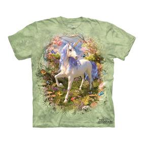 Playera 4d - Unisex Infantiles - 8271 Unicorn Forest.
