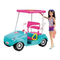 Barbie Hermanas Carro De Golf Y Skipper Doll Set