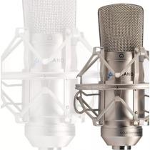 Kit Arcano 01 Mic P/ Estúdio St-01 + 02 Pop Filter Amf1