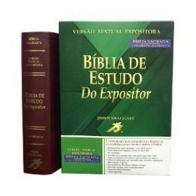 Bíblia De Estudo Do Expositor Vinho Com Índice Na Lateral