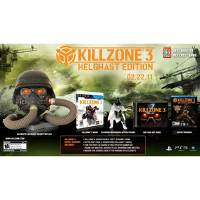 Killzone 3 Helghast Edition Português Move 3d Pronta Entrega