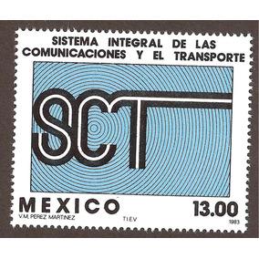 Mexico 1983 Secretaría De Comunicaciones Y Transportes