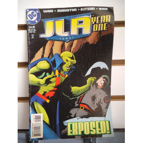 Jla 08 Year One Liga De La Justicia Dc Comics Ingles