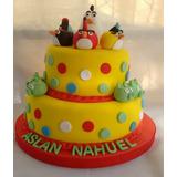 Tortas Infantiles Angry Birds Hacemos Todos Los Personajes