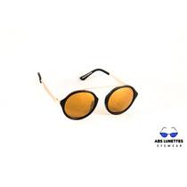 Lentes Gafas Sol Optica Moda Uv400 Importado Puente Metal