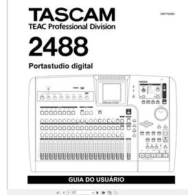 Manual Em Português Tascam 2488 Portastudio