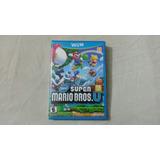 New Super Mario Bros U Americano Wii U + Frete Grátis