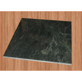 Piso Marmol Verde Marmeta Baldosa 30.5x30.5x1 Cm (por Pieza)
