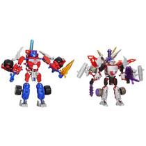 Transformers Construct-bots Optimus Prime Vs. Megatron Cons