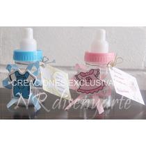 Mamaderas Souvenir Nacimiento Baby Shower Con Tarjeta