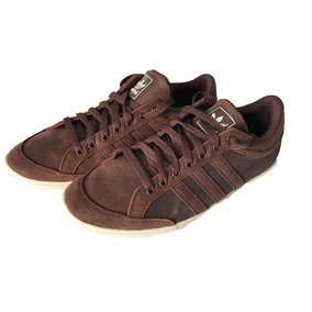 Adidas Original De Cuero Cafe Low Talla 43