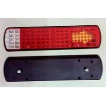 Lanterna De Led Traseira Para Caminhão 24v - 95 Leds - Zd013