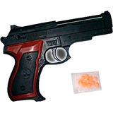 Pistola Revolver De Juguete Con Balines ( 15 Cm ) Oferta