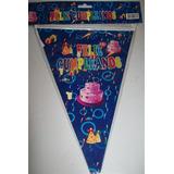 Banderin Cumpleaños Diego Dora Superman Minnie Cotillon