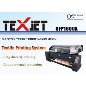 Impresion Gran Formato Ecosolventes Y Sublimación Textil