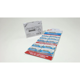 Kit 5 Cartelas De Lamina De Barbear Supermax Platinum C/50