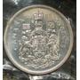 Canada 50 Centavos 1965 Plata Proof Elizabeth Ii