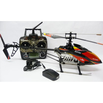Helicóptero Wltoys V913 4canais Radio 2.4ghz Rtf Completo
