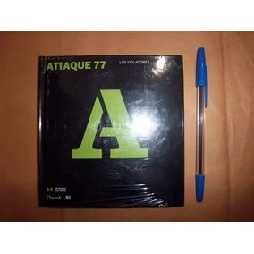 Cd+libro Attaque 77/ Los Violadores Leyendas Del Rock Envios