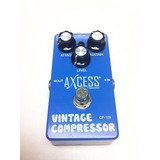 Pedal Crompressor Giannini Axcess Cp109 True By Pass Loja