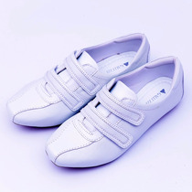 Tenis Branco De Couro Enfermagem Neftali 2065 Conforto