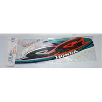 Jogo Kit Adesivos Completo Cg Titan 125 2000es Azul- Lb00610